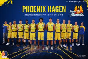 DE - ProA - Teamfoto - Phoenix Hagen 2017-2018
