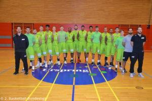 DE - ProA - Teamfoto - TEAM EHINGEN URSPRING 2017-2018