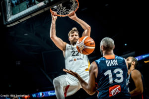 EuroBasket 2017 - Action - Deutschland - Dunk Danilo Barthel