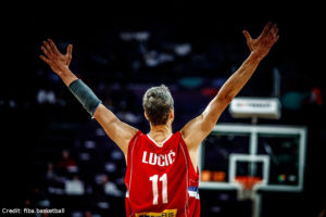 EuroBasket 2017 - Action - Serbien - Vladimir Lucic Jubel