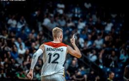 Robin Benzing feiert Comeback