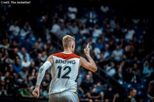 Eurobasket 2017 - Action - Deutschland - Robin Benzing jubelt