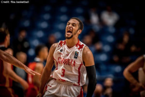 Eurobasket 2017 - Action - Georgien - Michael Dixon Jr