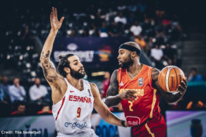 Eurobasket 2017 - Action - Tyrese Rice - Ricky Rubio