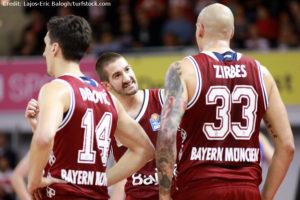 DE - Action - FC Bayern Basketball - Braydon Hobbs - Nihad Djedovic - Maik Zirbes