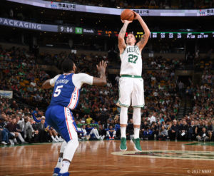 US - Action - Boston Celtics - Daniel Theis