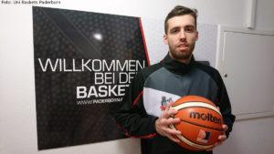 DE - Action - Uni Baskets Paderborn - Ethan O'Day