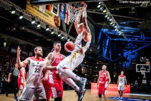 FIBA Qualifikation - Deutschland - Maik Zirbes - Dunk