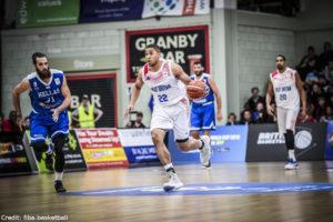 FIBA Qualifikation - Großbritannien - Myles Hesson
