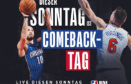NBA Sundays – Blick auf die Partie New York Knicks vs Orlando Magic
