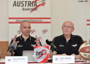 AT - Action - Michael Schrittwieser und ÖBV-Präsident Hubert Schreiner