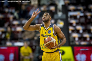 Champions League - MHP RIESEN Ludwigsburg - Adika Peter-mcneilly