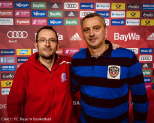 DE - FC Bayern Basketball - Dejan Radonjic