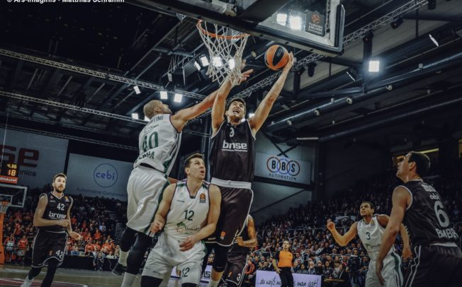 Lange Pause für Bambergs Luka Mitrovic
