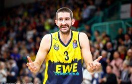 Auszeichnung für die EWE Baskets Oldenburg