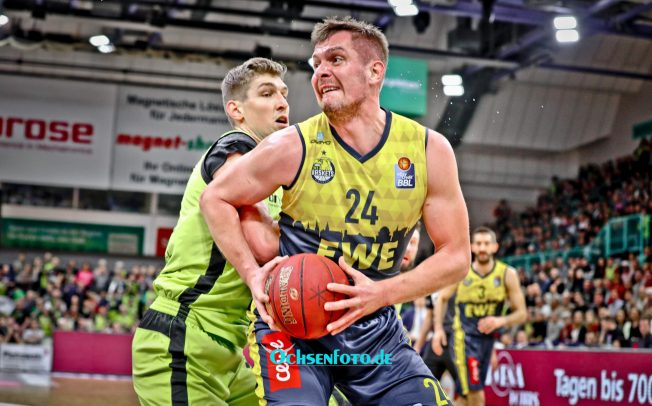 Großartiger Support für die EWE Baskets Oldenburg