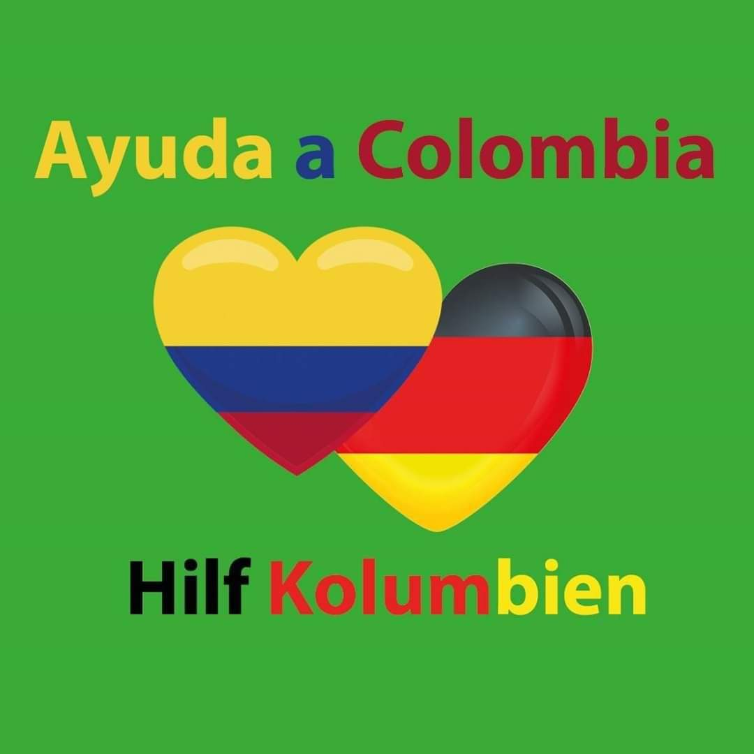 Ayuda a Colombia