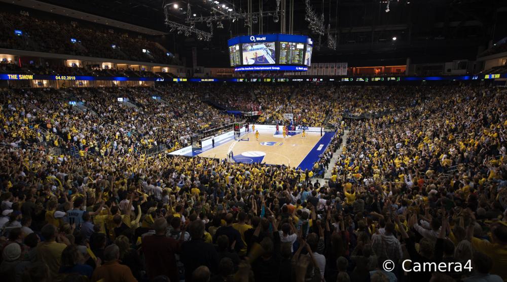 Mercedes-Benz Arena – die Heimat von ALBA BERLIN