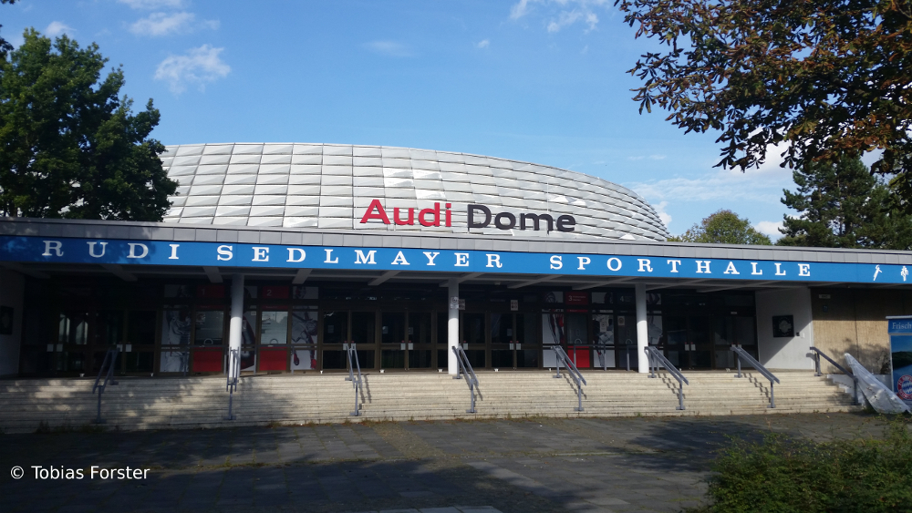 Der Audi Dome Die Heimat Der Bayern Bbl Profis
