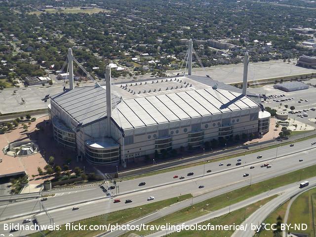 Der Alamodome – ehemalige Heimat der Spurs